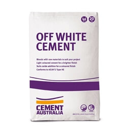 Cement Aust Off White